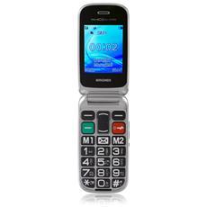 """Amico del Cuore Senior Phone Display 2.4"""" con Fotocamera Tasti Grandi + SOS e RadioFM - Italia"""