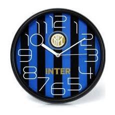 Orologio Da Parete Con Cassa In Abs Cm 30 Colore Nero / azzurro Fc Inter - 00840in1
