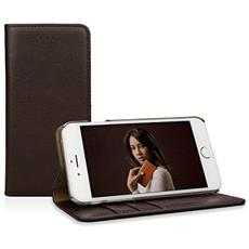 Leather Wallet iPhone 6s, Italian Mocca