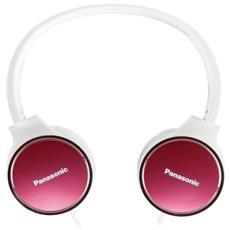 Cuffie con Microfono Cablato Colore Bianco e Rosa