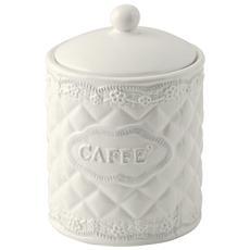 Barattolo Ceramica Tondo Caffe 11xh16 Contenitori Per Alimenti