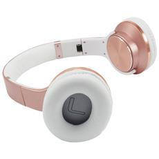 Cuffie Wireless CHSPBTNFCSPKR Bluetooth Colore Oro Rosa