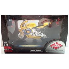 Modellino Moto Honda - Honda Rc211v - Team Camel - Max Biaggi - Scala 1:10 - 2004