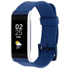 Zefit 4 Tracker Activity Smartwatch Bluetooth Blu