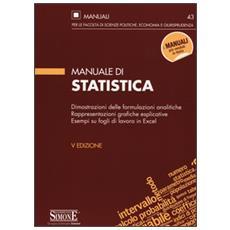 Manuale di statistica