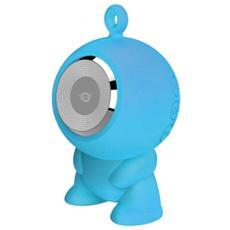 Altoparlante Speaker a ventosa Waterproof Bluetooth - Blu
