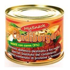 My Snack Condiburger Pat+carne