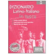 Dizionario. Latino-italiano