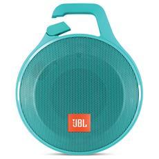 Speaker Audio Portatile CLIP+ Bluetooth / Jack Audio Impermeabile colore Azzurro