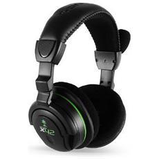 X42 Cuffie Gaming Ear Force Wireless con Microfono XBox 360 - Nero / Verde