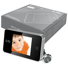 Visore Spioncino Telecamera Ottonato Display Digitale Per Porta Schermo Lcd