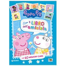 Il libro dell'amicizia. Peppa Pig. Con 40 carte