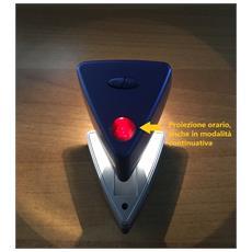 Sveglia Orologio Da Tavola Comodino Con Proiettore Orario Soffitto E Luce Di Cortesia Notturna A Batteria Idea Regalo