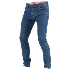 Sunville Skinny Jeans Moto Uomo Taglia 35