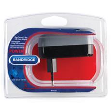 High Current 2-Way USB Power Adapter, 50/60, Interno, Universale, Nero, 2x USB A 2.0