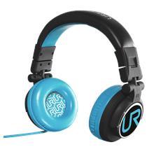 Cuffie con Microfono Cablato Rimix Colore Nero / Blu