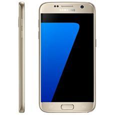 """Galaxy S7 Oro 32 GB 4G / LTE Impermeabile Display 5.1"""" Quad HD Slot Micro SD Fotocamera 12 Mpx Android Tim Italia"""