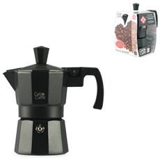 Caffettiera Alluminio Caldo Caffè Nero Tazze 1 Accessori E Guarnizioni