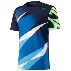 Vision Graphic T-shirt Jr Azzurro Verde 128