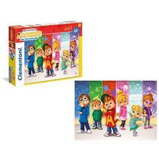 Puzzle 60pz Maxi Alvin Superstar Alvin And The Chipmunks Clementoni 26426