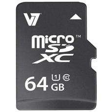 VAMSDX64GUHS1R-2N, MicroSDXC, Nero, Class 10, CE, FEE, WEEE