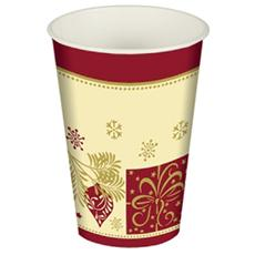 Confezione 10 Bicchieri Natale 200 Cc