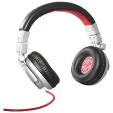 Cuffie con Microfono Cablato Rimix Colore Grigio / Rosso