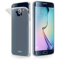Cover Aero in TPU Galaxy S6 Edge - Trasparente