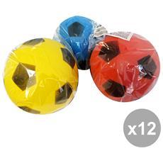 Set 12 Pallone In Spugna Globo Giocattoli