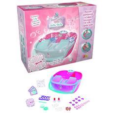 Giocattoli Bambina Sweet Care Spa, Pedicure Bolle Belle 13pz 07146