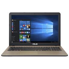 "Notebook VivoBook 15 X540NA Monitor 15.6"" HD Intel Celeron N3350 Ram 4GB Hard Disk 500GB 1xUSB 3.0 Windows 10 Home"