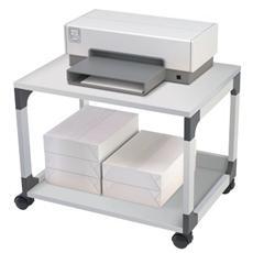 pz. 1 Carrello portast. 2 ripiani grigio Durable 3710-10