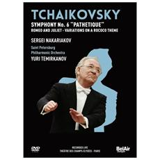 Dvd Tchaikovsky - Sinfonia N. 6 Op. 74 Pat