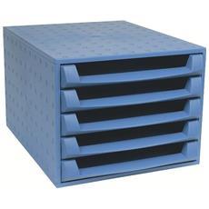 Cassettiera The Box Forever Blu