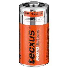 *Batteria Litio 3 Volt 1500Mah Cr123A
