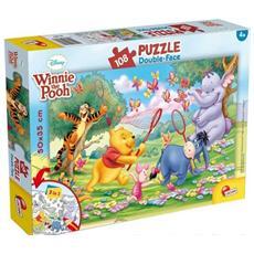 Winnie The Pooh - Puzzle Double-Face Plus 108 Pz