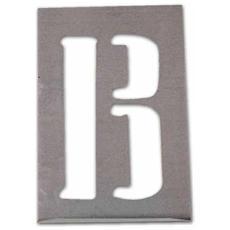 Stampo Traforato A Lettere In Serie (dalla A Alla Z) Misura 70 Mm