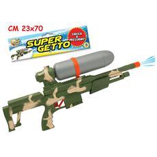 Pistola Ad Acqua Militare 60 Cm