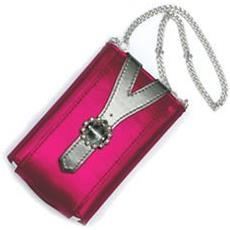 13011 Custodia a sacchetto Metallico, Rosa custodia MP3 / MP4