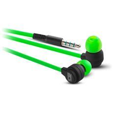 Xonar-IE Auricolare Stereofonico Cablato Nero, Verde auricolare per telefono cellulare