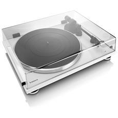 L-87 WH Belt-drive audio turntable Bianco piatto audio