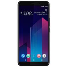 "U11+ Nero Lucido 128 GB 4G / LTE Dual Sim Display 6"" Quad HD Slot Micro SD Fotocamera 12 Mpx Android Europa"