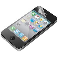Pellicola Salvaschermo Anti Impronta per iPhone 4/4S - 2 Pezzi