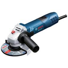 Smerigliatrice GWS 7-115E Watt 720 diametro disco mm 115 con valigetta