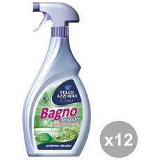 Set 12 Bagno Trigger 750 Ml. Detergen