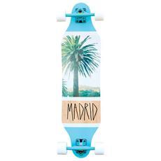 Longboard Weezer 36' Palm Bianco Azzurro Taglia Unica