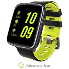 """Smartwatch GV68 Resistente all'acqua IP68 Display 1.54"""" Bluetooth Verde- Europa"""