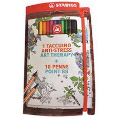TACCUINO ART THERAPY, Multi, Libro / album da colorare, Ragazzo / Ragazza, Native, Scatola, Germania