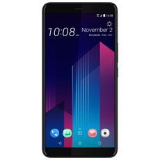 "U11+ Nero 128 GB 4G / LTE Dual Sim Display 6"" Quad HD Slot Micro SD Fotocamera 12 Mpx Android Europa"