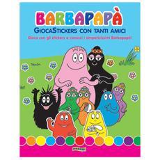 Barbapapa' - Gioca Stickers Con Tanti Amici